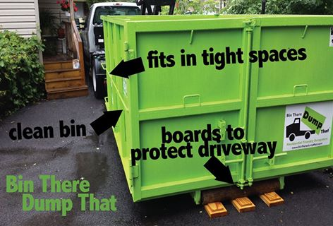 Bin There Dump That Western New York Value Proposition