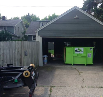 dumpster rental and storage container in Smyrna, GA