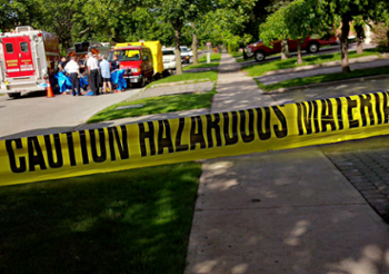 Tossing hazardous materials is a common dumpster rental mistake.