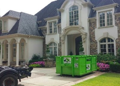 dumpster rental and storage container in Sandy Springs, GA