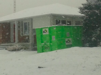 availability is good when it comes to renting a dumpster in the winter