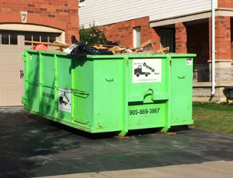 dumpster rental and storage container in Cedar Park, TX