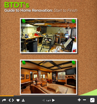 BTDT's Guide to Home Renos