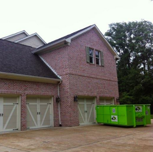 dumpster rental and storage container in Cypress, TX