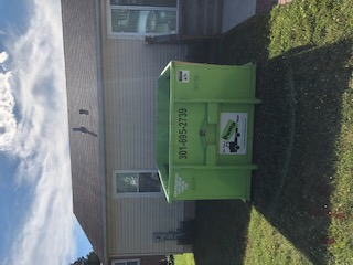 dumpster rental in germantown, md from Bin There Dump That