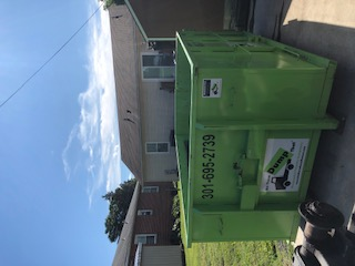 dumpster rental in gaithersburg, md from Bin There Dump That