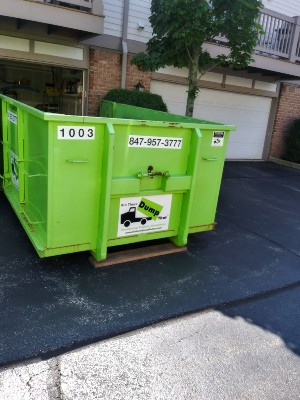 Dumpster Rental Delivery Process in Elgin, IL