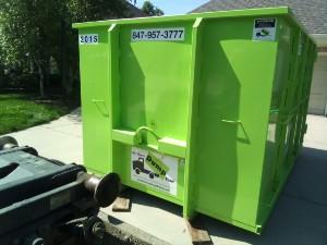 Dumpster Rental in Elmhurst IL from Bin There Dump That