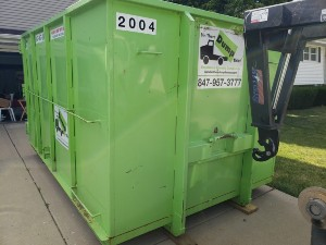 dumpster rental available in highland park, illinois