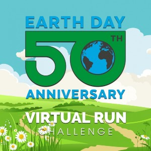 Earth Day Virtual Activities 2020 the virtual run challenge
