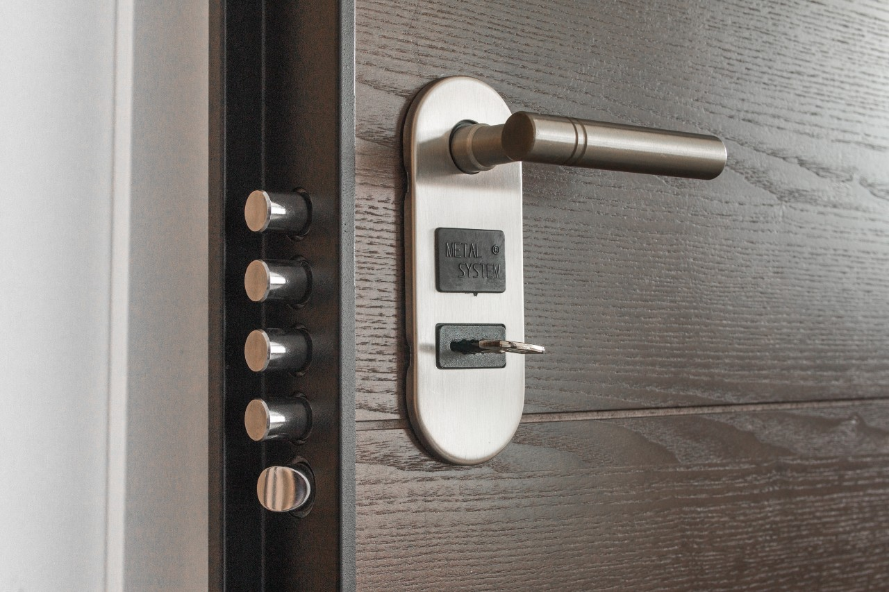 home organization tip safety and maintain locks
