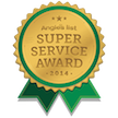 super service award for dumpster rental indianapolis