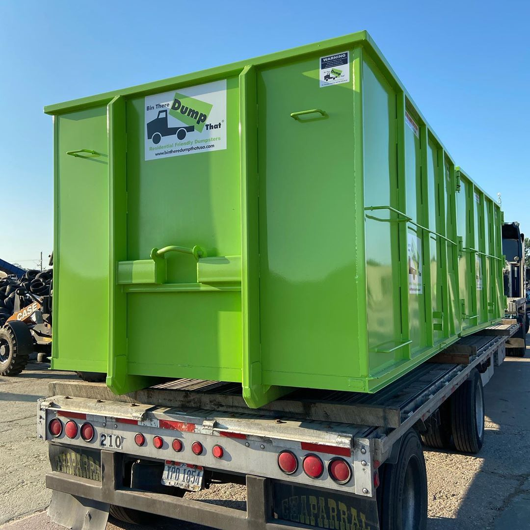 Bin There Dump That Dumpster Rental For Residential and Commercial