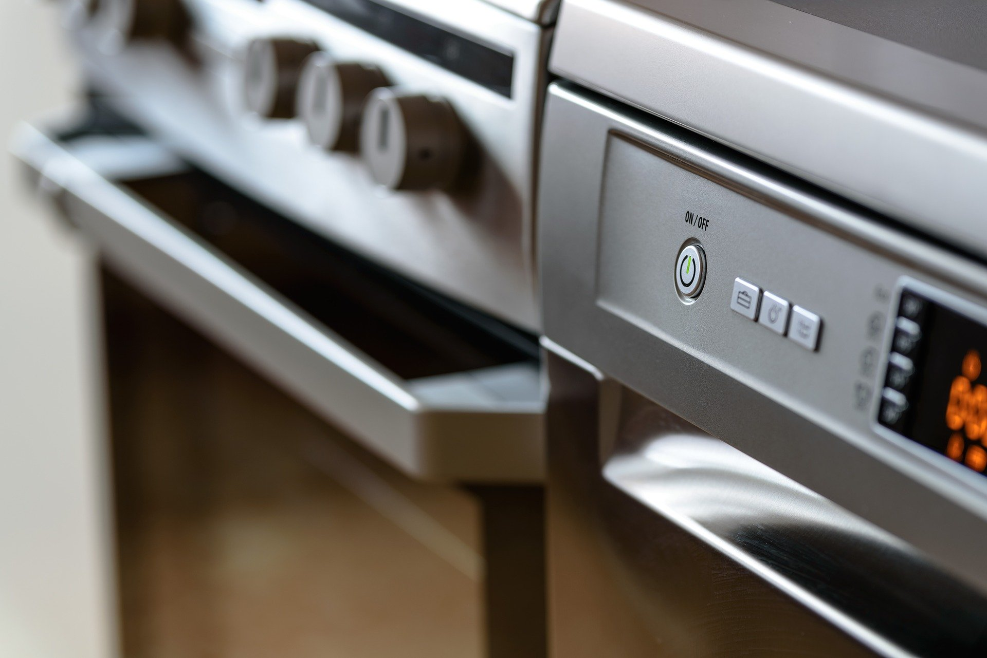kitchen appliances to repair or replace