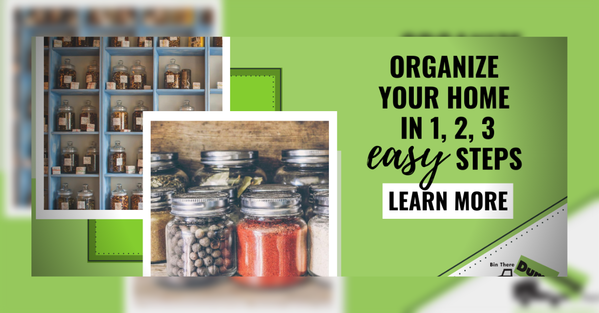 Organize Your Home in 3 Easy Steps