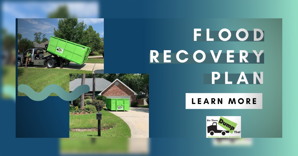 Flood Recovery Plan Infographic