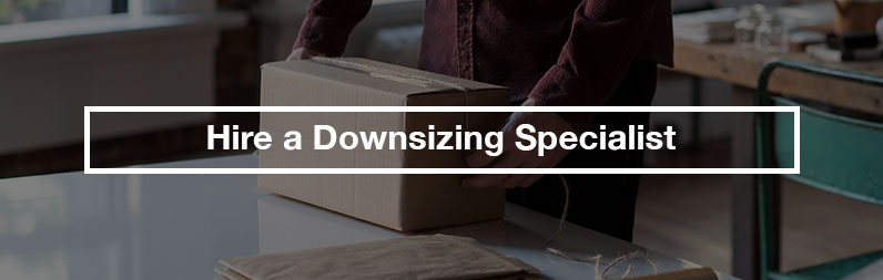 hire a downsizing specialist estate sale