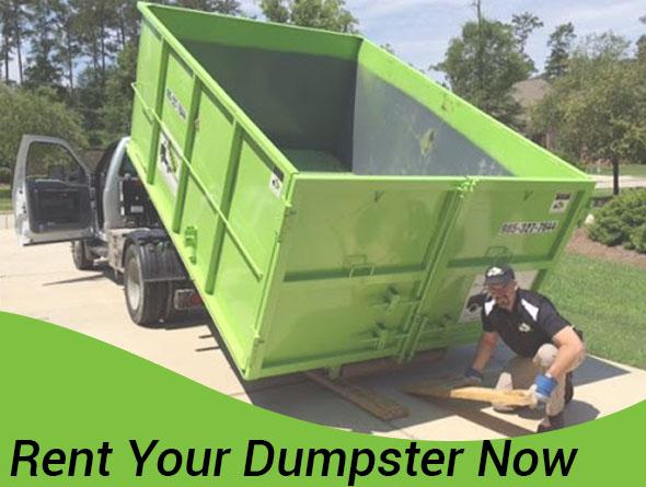 Rent a Dumpster CTA