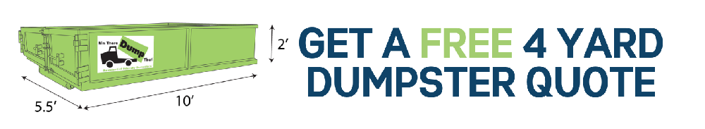4 Yard Dumpster Rental Quote, Get Your Free Quote