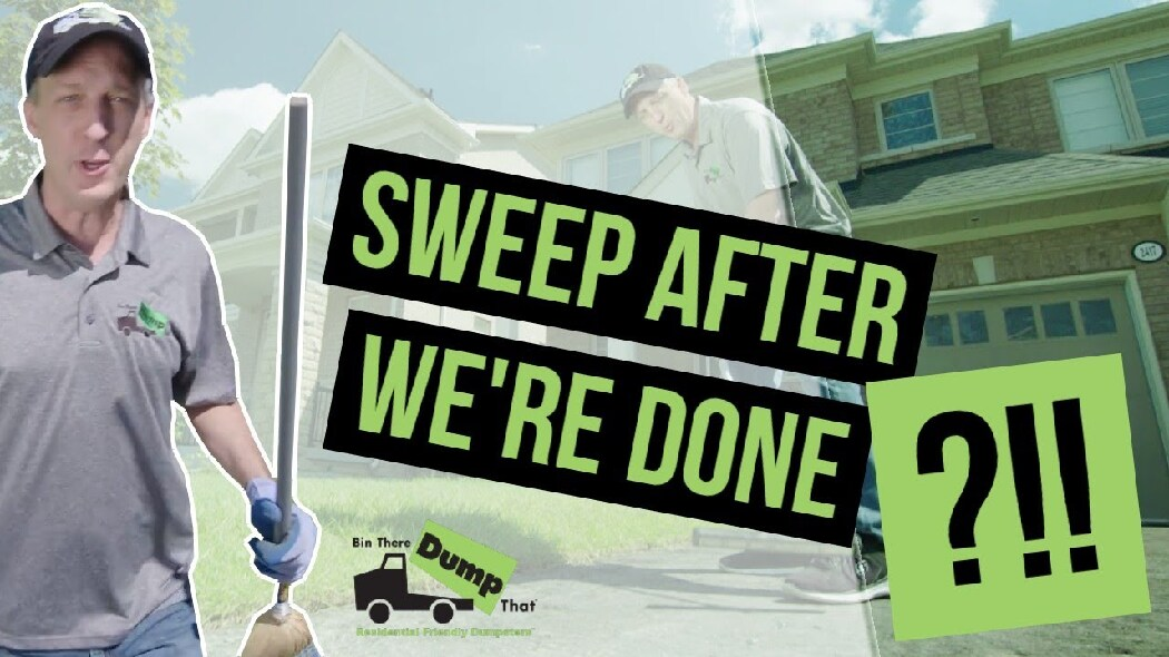 RR Sweep After Rental Video