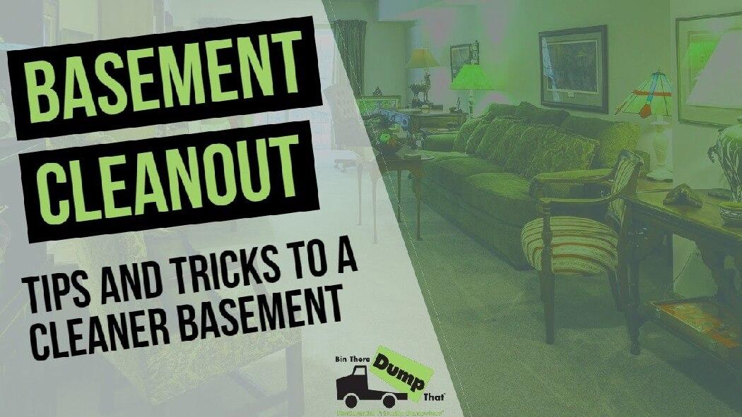 Basement Cleanout Video