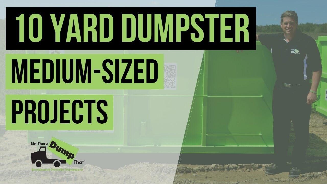 10 Yard Dumpster Video