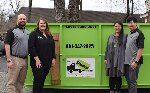 Eric & Karen Whaley, Bradley & Jennifer Chow - Bin There Dump That: Residential Friendly Dumpsters
