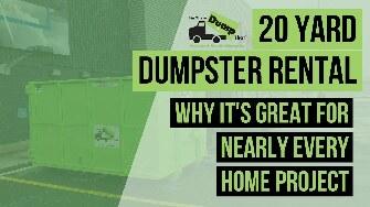 20 Yard Dumpster Video