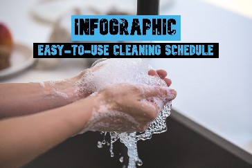 Insanely Easy-To-Use Cleaning Schedule