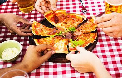 pizza estate sale