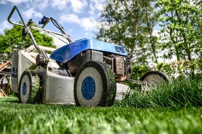 lawnmower for garden tending
