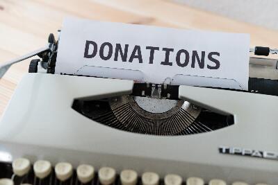 Donations During Garage Organization