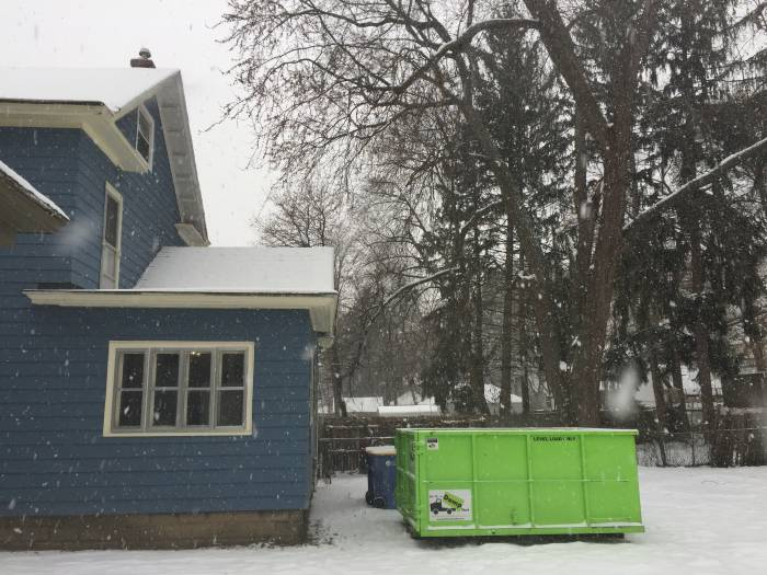 dumpster rental bin there dump that