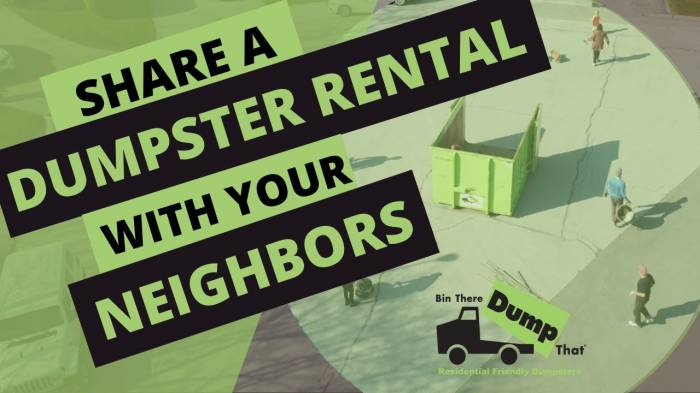 Neighbor Dumpster Share Video