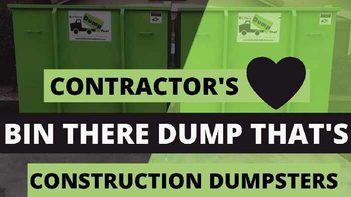 Contractor Communication With Bin There Dump That