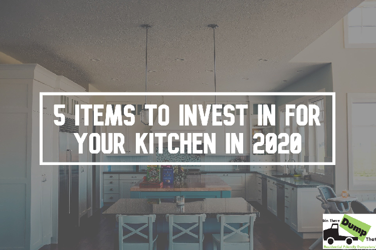 5 Items to Invest in for Your Kitchen in 2020
