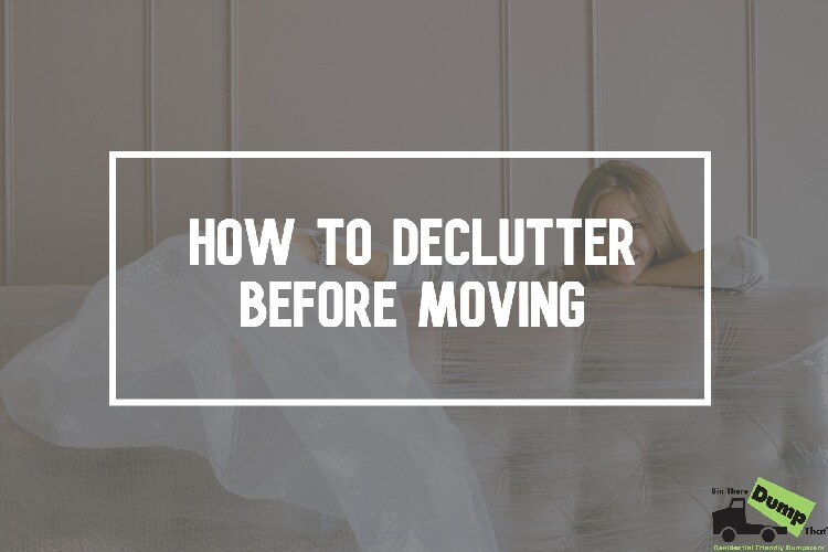 How to Declutter Before moving