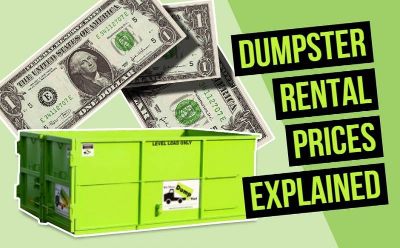 Dumpster Rental Prices with Bin There Dump That
